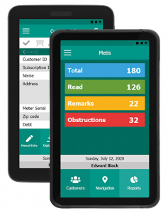 Metis Electricity Meter Reader Android Application
