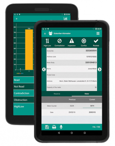 Gas Meter Reader Android Application