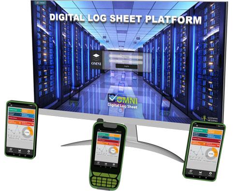 Digitales Log-Blatt